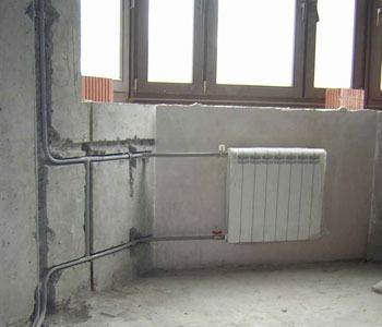 Монтаж стояков и подводок к приборам из стальных труб в Новосибирске, монтаж отопления Новосибирск