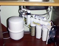 Установка фильтра очистки воды в Новосибирске, подключение фильтра очистки воды в г.Новосибирск