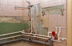 Замена старых труб в квартире, коттедже, на доче, доме, складе, помещении или офисе в городе Новосибирск